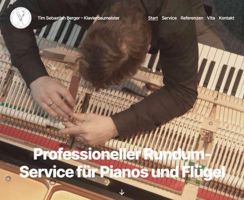 Tim Sebastian Berger - Klavierbaumeister